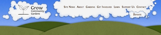 Grow Site Header (Other Pages)